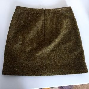 Ann Taylor Loft Fleck Green Pencil Skirt Size 0